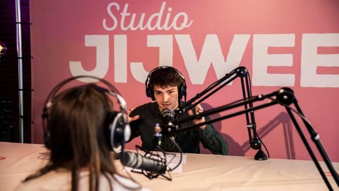 wtFOCK-acteur Nathan Naenen bezoekt Hasseltse jeugdinstelling Bethanië voor Studio JIJWEET