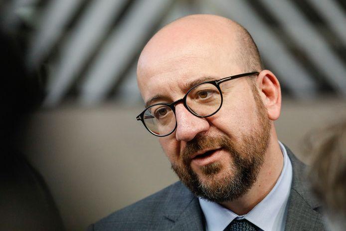 Charles Michel is de kandidaat-premier van de Waalse liberalen.