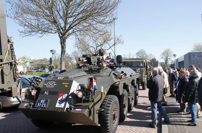 Op menige Veteranendag komen DAF's oude legervoertuigen voorbij.