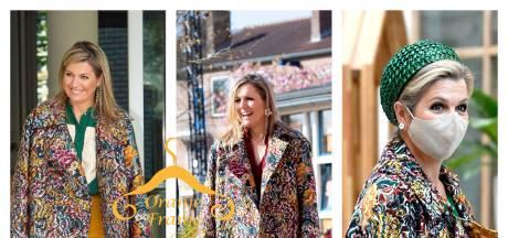 De oorringen die Máxima deze week droeg zijn voor 120 euro te koop bij Zalando