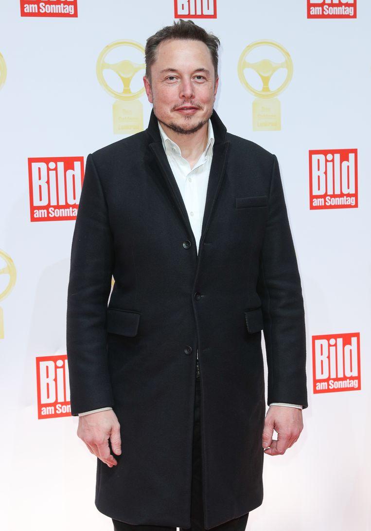 Elon Musk Beeld Getty Images