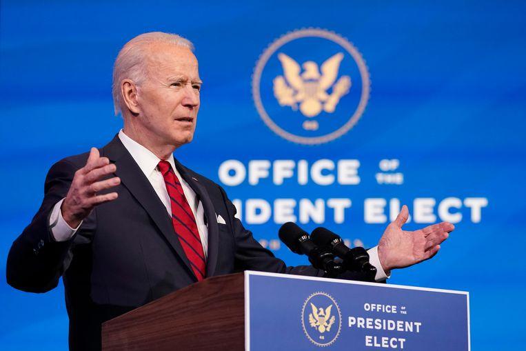 Tijdens de inauguratie van Joe Biden zullen er extra manschappen worden ingezet. Beeld AP