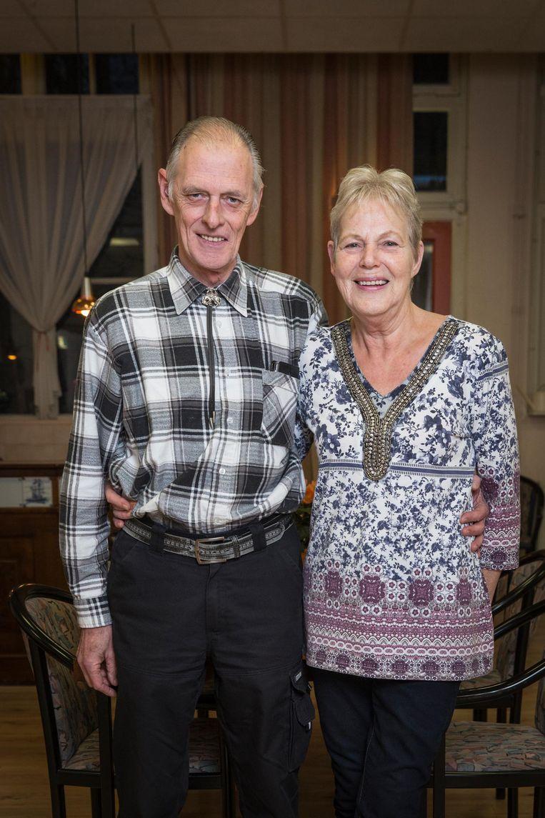 Harry van Hartingsveldt en Jannie Lemstra ontmoetten elkaar 25 jaar geleden in het HOH. Beeld Dingena Mol