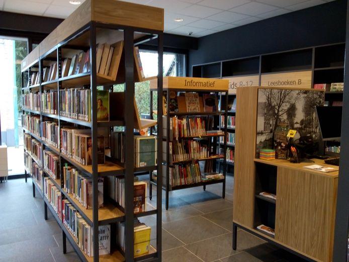 Gedeelte van de bibliotheek in Zidewinde