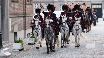 Trompetterkorps van koning komt naar Hamont