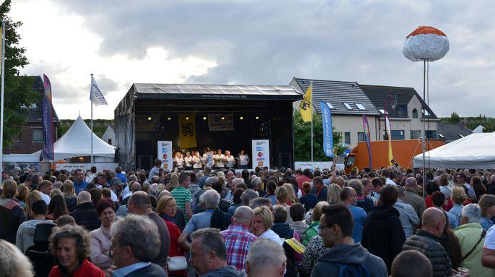 Archiefbeeld Vlaanderen Zingt in Steenokkerzeel.