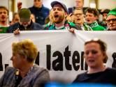 Clubleuzen, spandoeken en schapengeluiden op het Stadskantoor: FC Dordrecht roert zich
