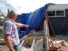 Tegenslag voor nieuw hospice: pand beschadigd bij sloopwerk
