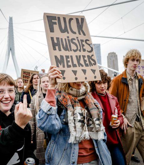 Zeshonderd man verwacht bij woonprotest Arnhem: 'Oproep om zondag te komen enorm vaak gedeeld'