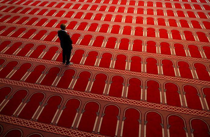 La Grande Mosquée de Bruxelles, toujours fermée