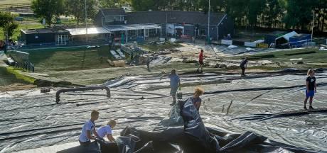 Skiclub De Schans op zoek naar nog meer handjes en geld om de skibaan te herstellen