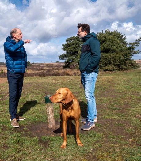 Er wordt strenger gecontroleerd of honden niet buiten het losloopgebied komen op het Rozendaalse veld