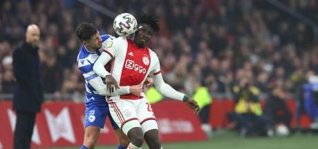 Vraagtekens voor Van den Houten na duel met Ajax: 'Geen flauw idee waar die schoenen zijn'