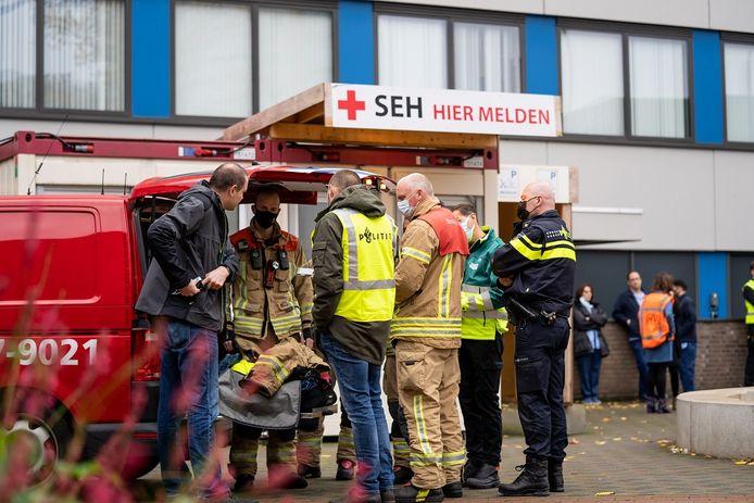 In het Ikazia Ziekenhuis aan de Montessoriweg in Rotterdam werd een poederbrief aangetroffen.