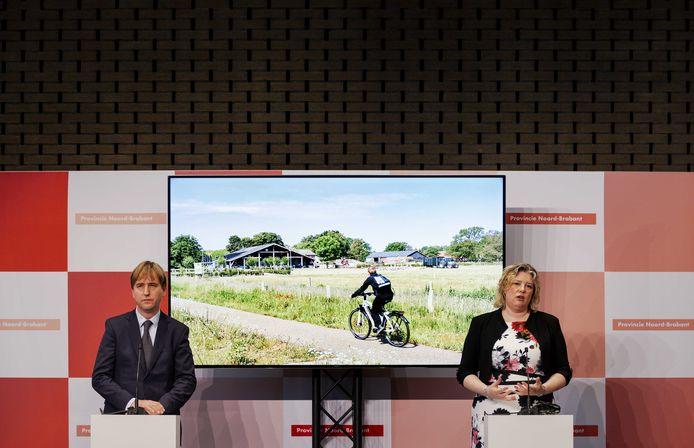 Fractievoorzitters Eric de Bie (Forum) en Ankie de Hoon (CDA).