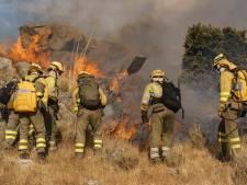Evacuaties vanwege bosbranden in Spanje en Griekenland