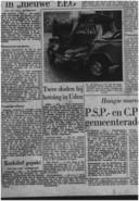 Het Brabants Dagblad publiceerde op 1 februari 1966 over het dodelijk ongeval in Uden. Hierbij kwamen drie Schijndelse vrouwen om het leven, onder wie Ans Mathijsen die tien dagen later overleed. Dit artikel komt uit het archief van het BD bij Erfgoed 's-Hertogenbosch.