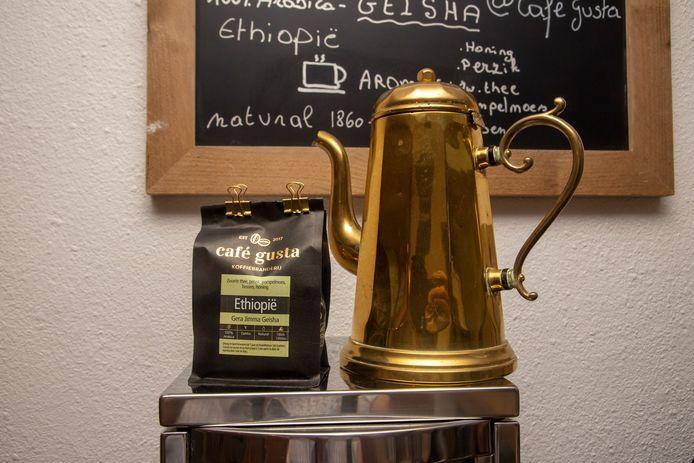 Ambachtelijke specialty koffies bijTas.