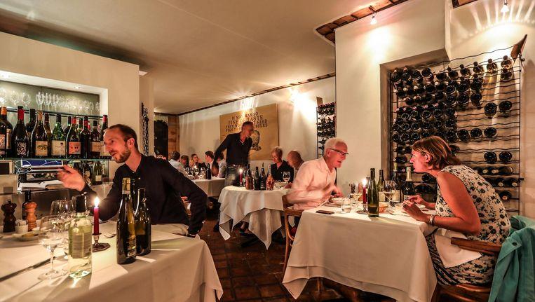 Restaurant de Utrechtsedwarstafel Beeld Eva Plevier