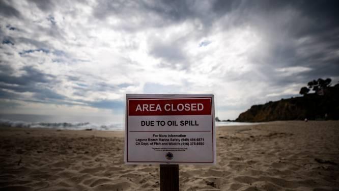 Nog meer stranden voor kust Californië gesloten na olielek