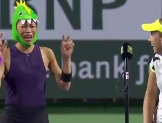 """Elise Mertens bereikt """"samen met draak"""" halve finales van dubbelspel in Indian Wells"""