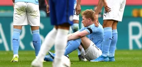 """Guardiola inquiet après la sortie sur blessure de De Bruyne: """"Cela ne semble pas bon"""""""