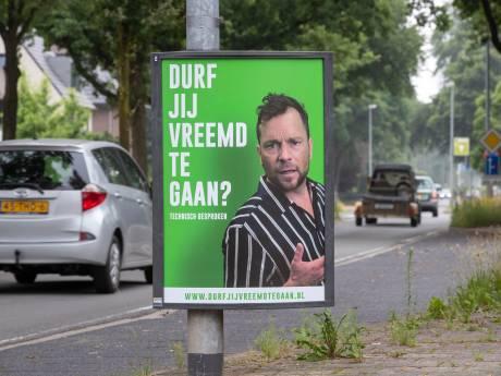 Pikant reclamebord maakt tongen los, vooral in dit deel van de Veluwe