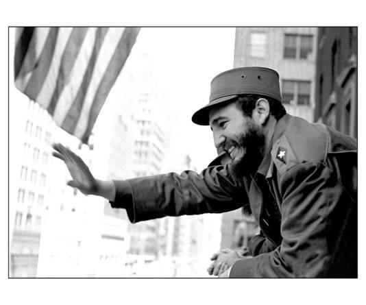 Fidel Castro, het grote voorbeeld van Tanja Nijmeijer
