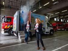Ontsnappen uit brandende escape room: omgebouwde truck schoolt bezoekers bij over brandveiligheid