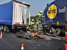 Doetinchemse chauffeur zwaargewond bij truckongeval A59