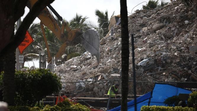Dodentol ingestort gebouw Miami loopt op tot 95. Nog steeds 14 vermisten