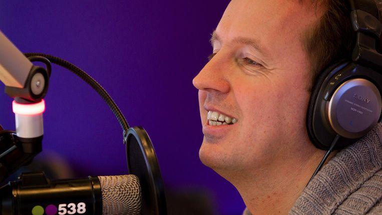 DJ Edwin Evers presenteert zijn programma Evers staat op. Beeld anp