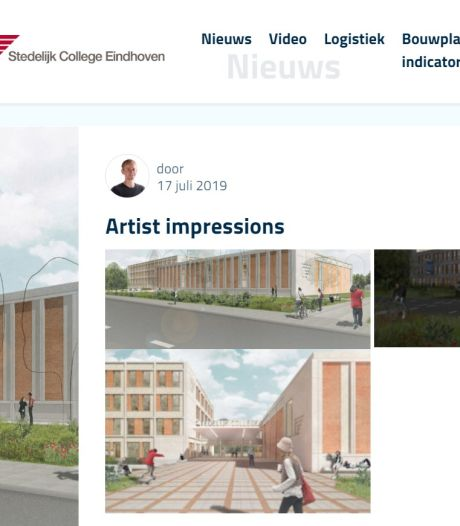 Nieuwbouw Stedelijk College Henegouwenlaan te volgen via site en webcam
