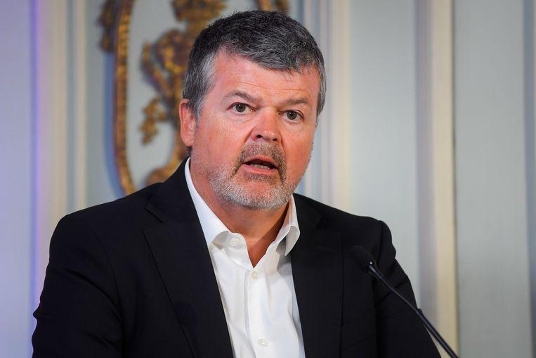 'Hier ligt een kans voor de Vlaamse overheid om een voorloper te zijn', zegt Vlaams minister voor Binnenlands Bestuur Bart Somers (Open Vld).  Beeld BELGA