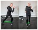 Mini-band activation steps