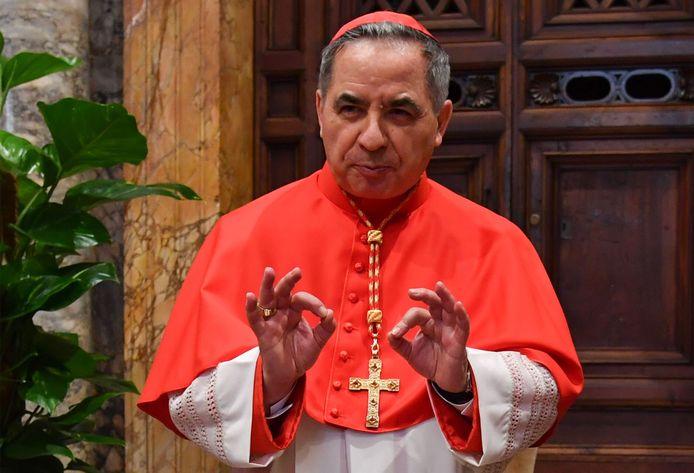 Kardinaal Angelo Becciu.