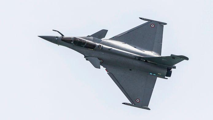 Een Franse Rafale-jet. Onze zuiderburen moesten recent ingrijpen tegen Russische toestellen, niet zover van het Belgische luchtruim.