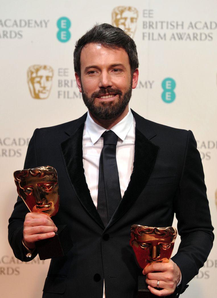 Ben Affleck was met 'Argo' de grote winnaar. Beeld AFP