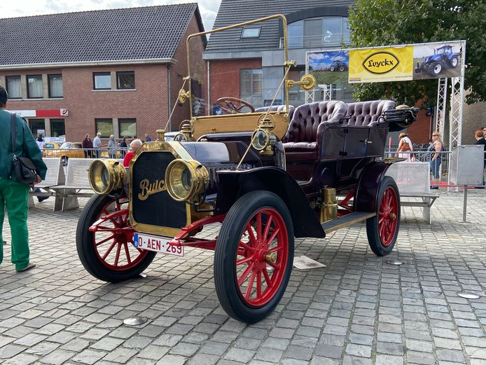 Deze oldtimer stamt uit 1906