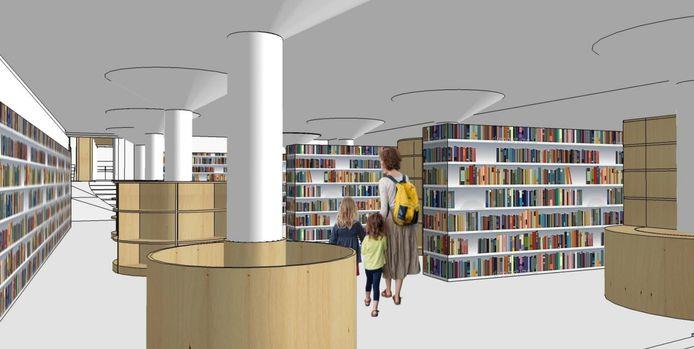 De vernieuwde bibliotheek vLEESHUIS zal op 13 november de deuren openen.