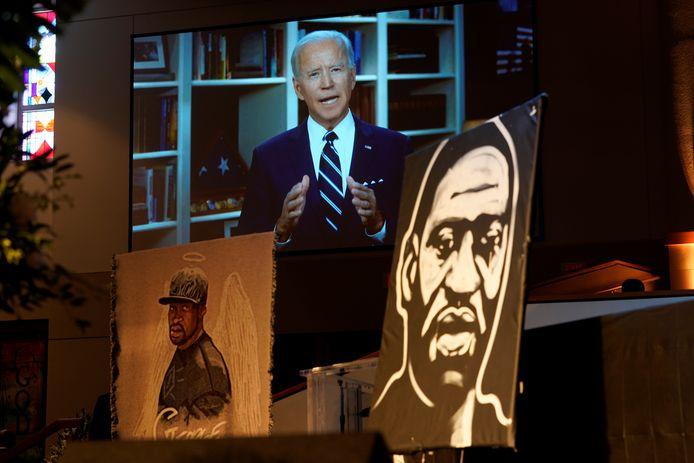 """""""Hij zal de debatten met aandacht volgen"""", zegt de woordvoerster van president Biden."""
