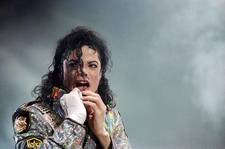 Archiefbeeld van Michael Jackson.