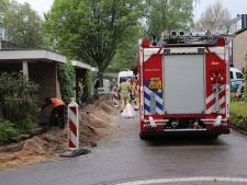 Huishoudens in Maarn tijdelijk zonder gas door gaslek