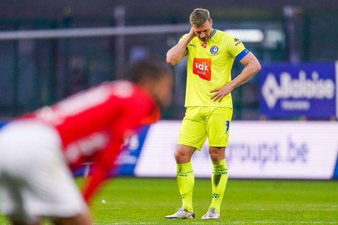 In Luik was de teleurstelling van de gezichten af te lezen, ook bij spits Laurent Depoitre.