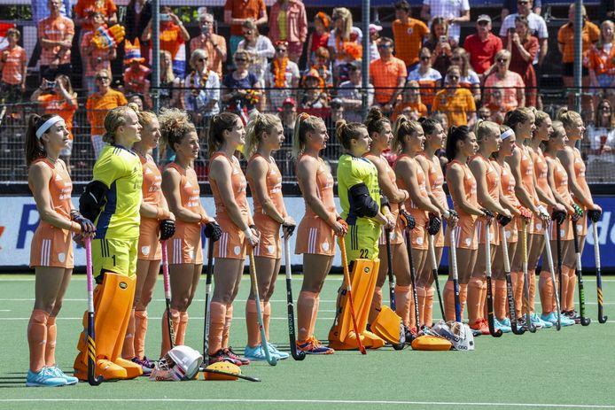 De speelsters van Nederland.