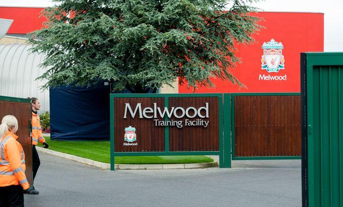 Melwood, waar Liverpool traint.