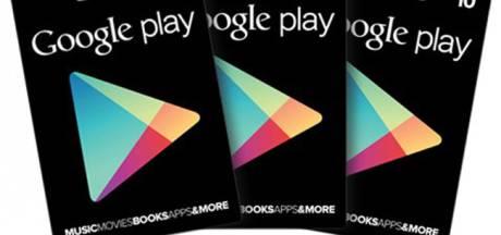 Les bons d'achat Google Play débarquent en Europe