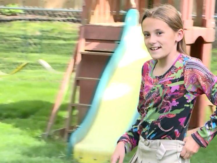"""Twaalfjarige Allie uit VS krijgt haar eerste vaccin: """"Ik kan niet wachten"""""""