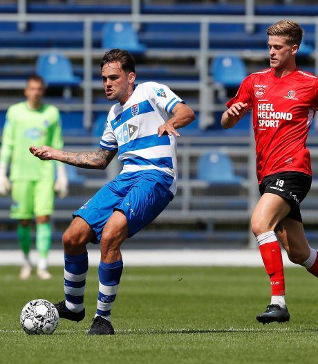 Helmond Sport overtuigt ook tegen PEC nog niet, ruime nederlaag in Zwolle