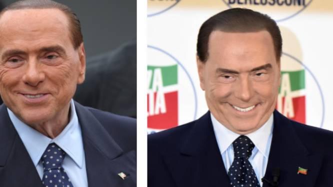Wat is er met Berlusconi gebeurd? Italiaanse ex-premier ziet er plots helemaal anders uit